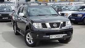 2007 NISSAN NAVARA DIE HARD DCI 4X4 SWB SHR D/C JUST 1 PRIVATE OWNER AND 38