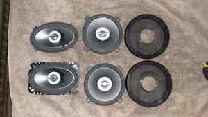 Infinity automobile/car speakers