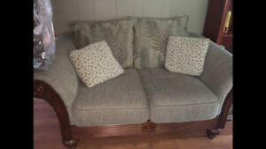 Couch and 2 matching chairs