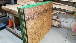 Oriented Strand Board Tongue and Groove