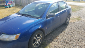 Selling my 2005 Saturn ion