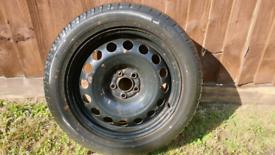 Steel wheel 5x100