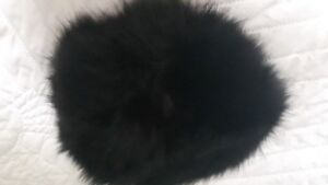 """Vintage , """"Andre Creations"""" Pineapple Style Mink Hat"""