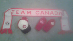 Team Canada Hat, Scarf and Mitts
