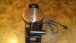 Salton Rotary Waffle Maker in good shape.