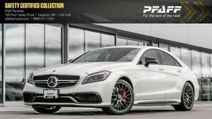 2017 Mercedes-Benz CLS63 AMG S 4MATIC Coupe B&O | Night Pkg | Lo