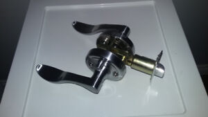High end lever style door handles
