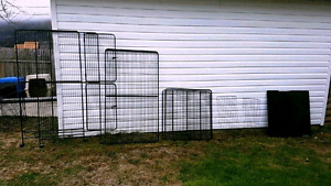 XXL  and Med Bird Cages, Critter Cages, Hermit Crab Tank (SPCA)