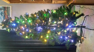 7ft Prelit tree with Color-changing LED Lights