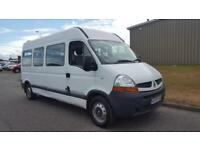 2009 59 PLATE RENAULT MASTER LM35 DCI 150 AUTO DIESEL BUS