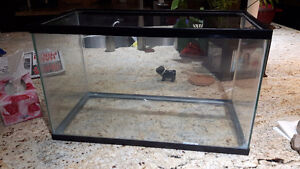 "Terrarium 10""x20""x12"" With Rock Cave"