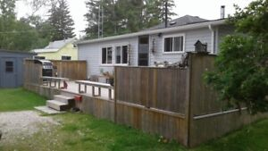 Cottage near Winnipeg Bea available for July 2nd to July 15th.