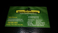 Lawn Care Landscaping Yard Maintenance Gutter And Siding Cleanin