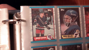 1989 1990 topps complete hockey card set