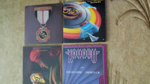 ELO VINYL RECORDS ! LOT OF 4 ! ORIGINAL PRESSINGS MINT