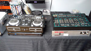Sound system for DJ NEW PRICE!!!!!!!!  PRICE IS FIRM