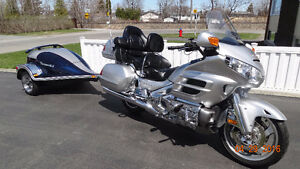 2005 HONDA GOLDWING 1800 + REMORQUE