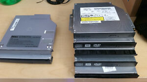 Various Latop CD/DVD RW drives