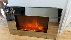 1500 w wall mount electric fireplace