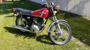 Classic Honda cb125s
