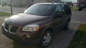 2007 Pontiac Montana Van For Sale! - Low Mileage with Starter