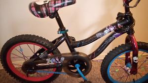 Monster high bike