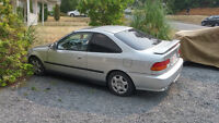 Parting out my 2000 Honda Civic Si Coupe (2 door)