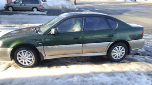 2002 Subaru Outback cuir Bicorps