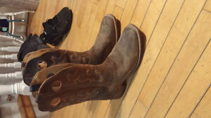 mens brand new worn once cowboy boots size 9.5 Cornwall Ontario image 1