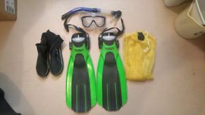 Scuba / snorkel gear