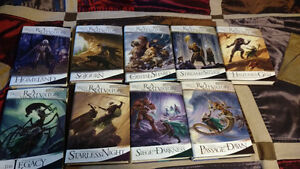 Signed Legend of Drizzt, Salvatore, 16 Book Hardcover collection