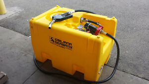 New 200L portable Fuel tank for sale with pump and nozzle Strathcona County Edmonton Area image 1