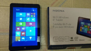 "Insignia Windows 8 Tablet 8"" IPS Intel Quad-Core 32GB WiFi"