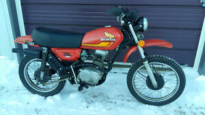 VINTAGE HONDA XL 75 MINI ENDURO