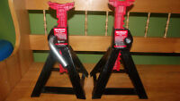 Set of 3 Ton Jack Stands $15.00