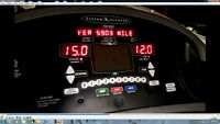 tapis roulant - treadmill -vision fitness T9700S type commercial