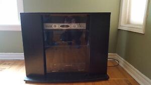 Corner TV Stand for Sale (Black)