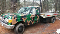 1990 tilt and load tow truck