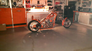 HARLEY CUSTOM CHOPPER REDUCED $15500 OBO,306-690-0276