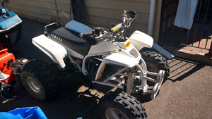 Yamaha blaster with mods trade for dirt bike