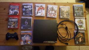 PS3 + over 20 games