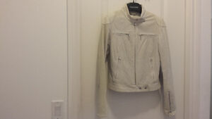 2XS BEAUTIFUL DANIER LEATHER JACKET PERFECT CONDITION