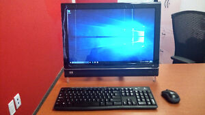 "All in one HP IQ500 Touchsmart 22"" PC Cambridge Kitchener Area image 1"