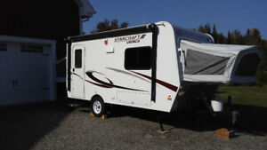 Roulotte hybride Starcraft Launch 16RB – 2014