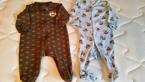 Two 6-Month Size Sleepers from Gymboree & Carters - $7 for both