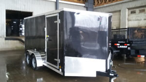 New 7X14 Enclosed Cargo Trailer