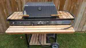Broil master natural gas grille with smoke master