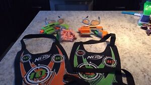 Nerf battle game for 2!!!!
