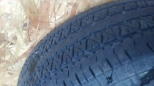 4 p245 /75 r16s like new uniroyal mud and snow truck tires