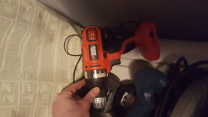 Black and decker hand drill